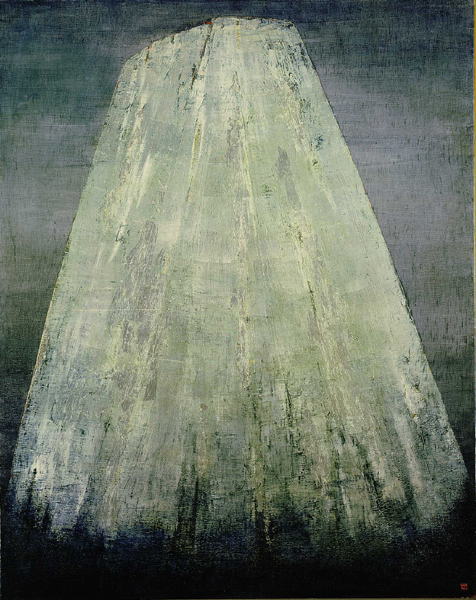 "Anna-Eva Bergman, ""Stort sølvfjell"", 1957"