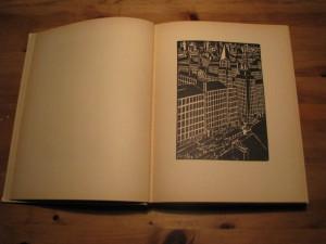 """Frans Masereels bok """"Le Ville"""" (1925)"""