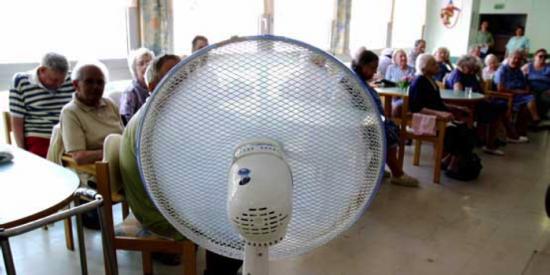 Pensjonister i spania. Klimasårbarhet blant normenn.