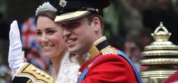 William og Kate vinker til folket