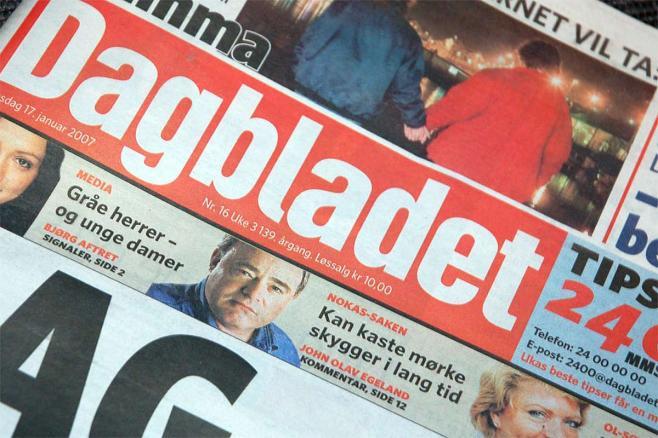 Dagbladet forlat oss vår skyld Masterbloggen