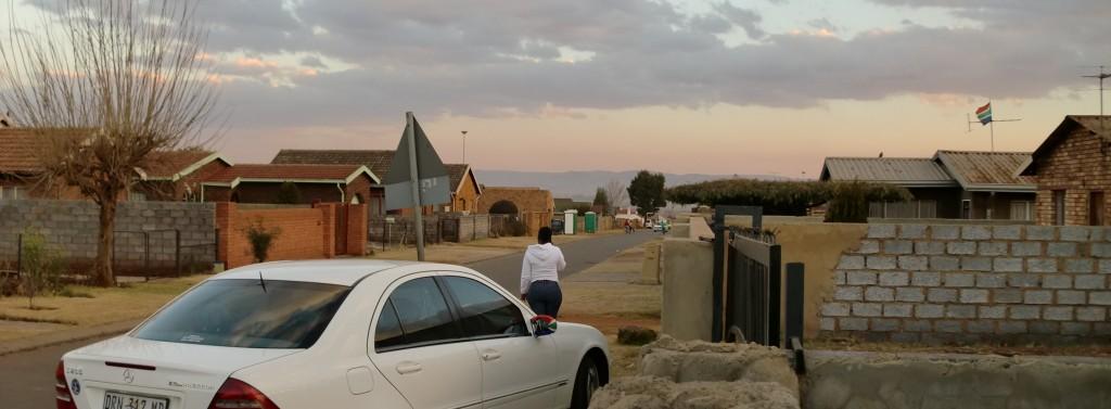 Gate i en Township