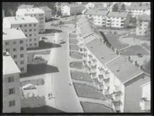 Slik ser drabantbyen ut i støv på hjernen (1959)
