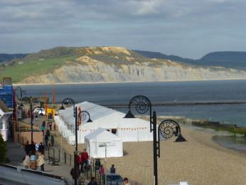 Fossilfestivalen i Lyme Regis