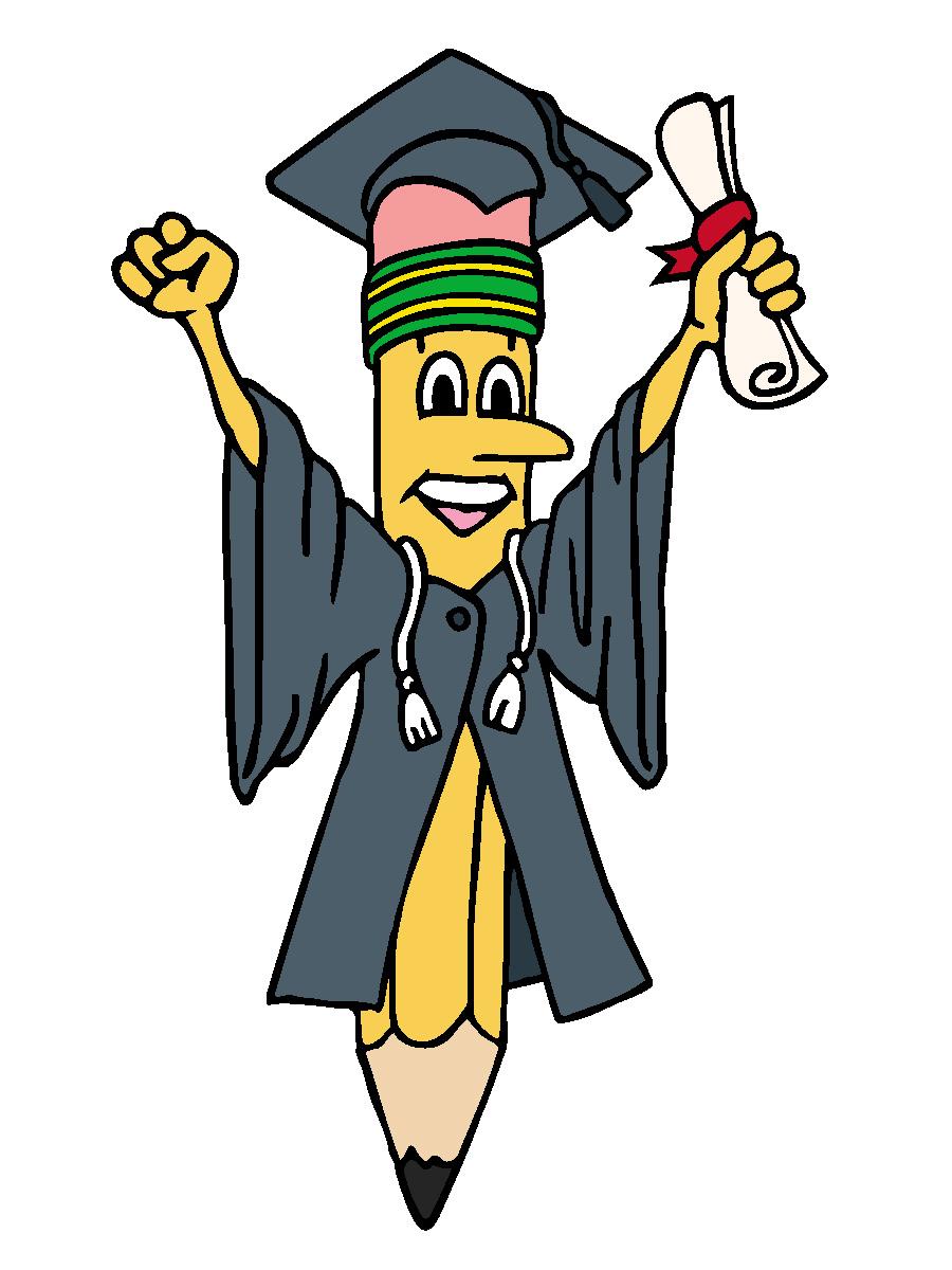 Hurra, endelig ferdig med mastergraden! (Figur: http://www.abcteach.com)