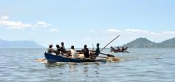 Fiskere i Lake Chilwa ble hardt rammet av tørken (foto: Hanne Jørstad)