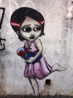"""""""Kan du snakka litt for meg?"""" Graffiti, São Paulo (Foto: Bror Strand)"""
