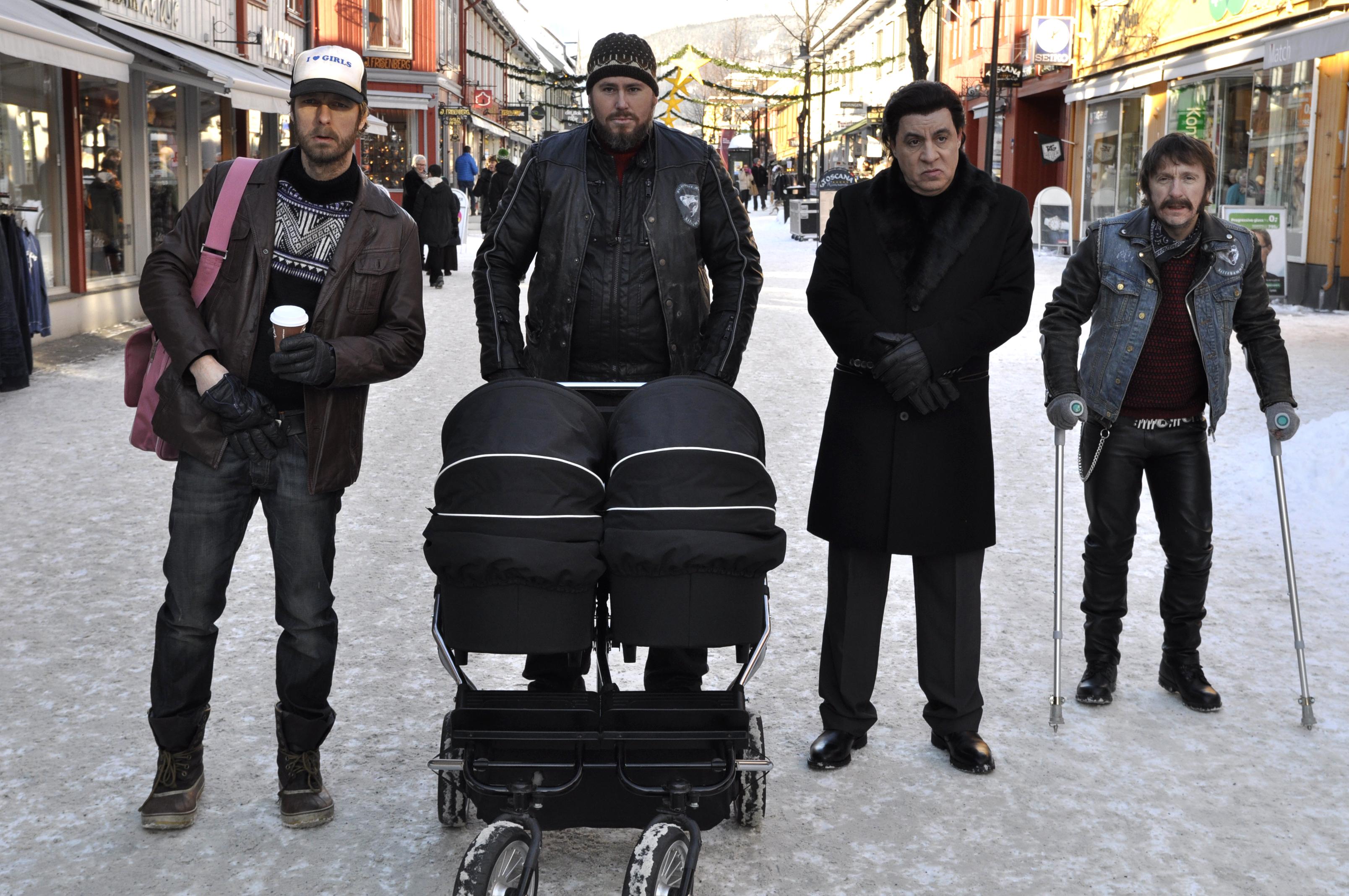 """Før premieren av svært populære """"Lilyhammer"""" ble produktplassering heftig debattert i mediene. Serien fikk utsatt premieredato. Foto: Rubicon TV / NRK."""