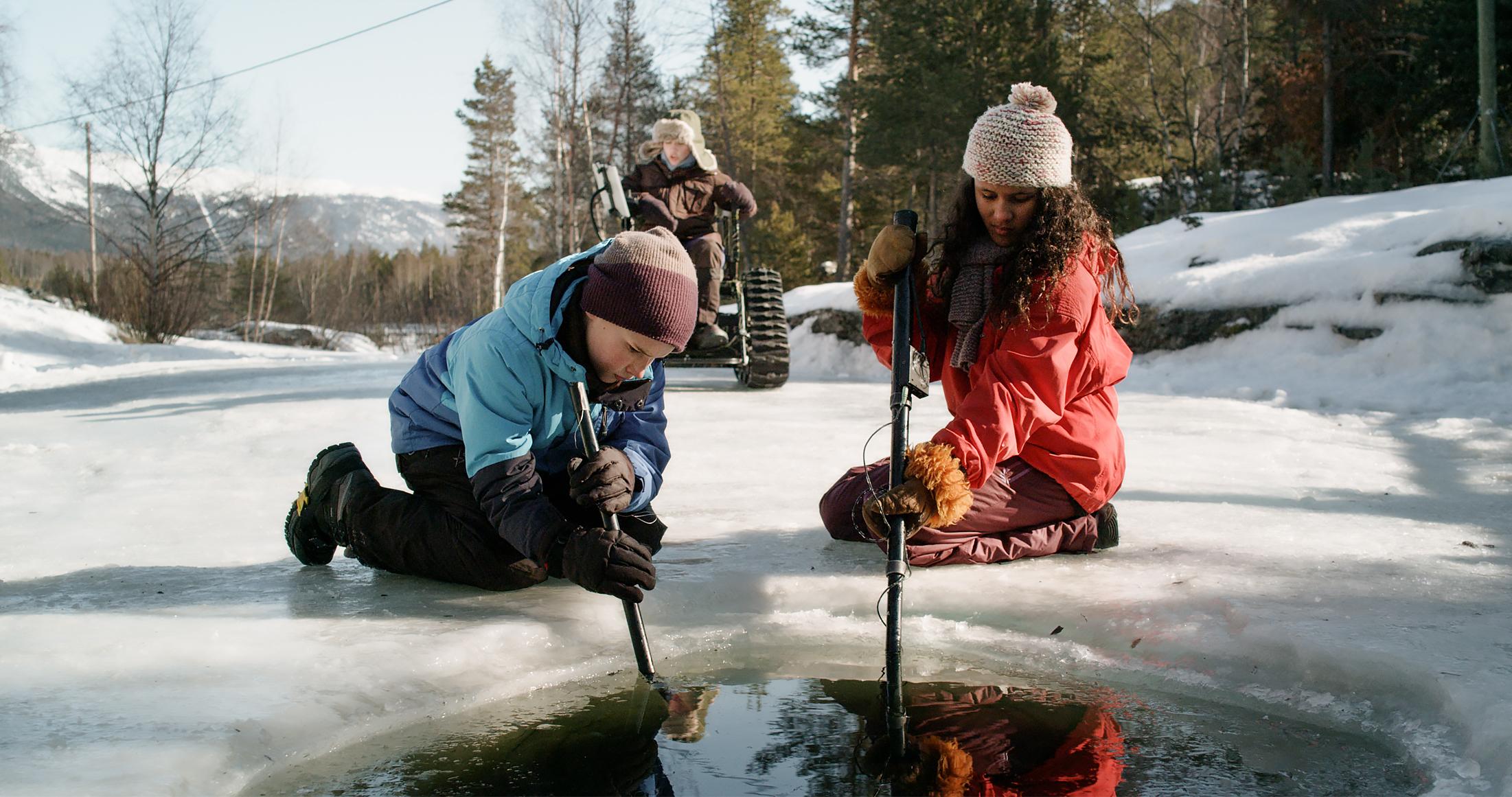 """I turistsammenheng er flotte naturbilder positivt, som i denne scenen fra norske """"Trio - Odins gull"""". Foto: NordicStories."""
