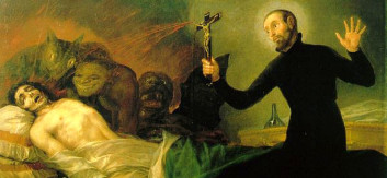 Goya: eksorsismerituale