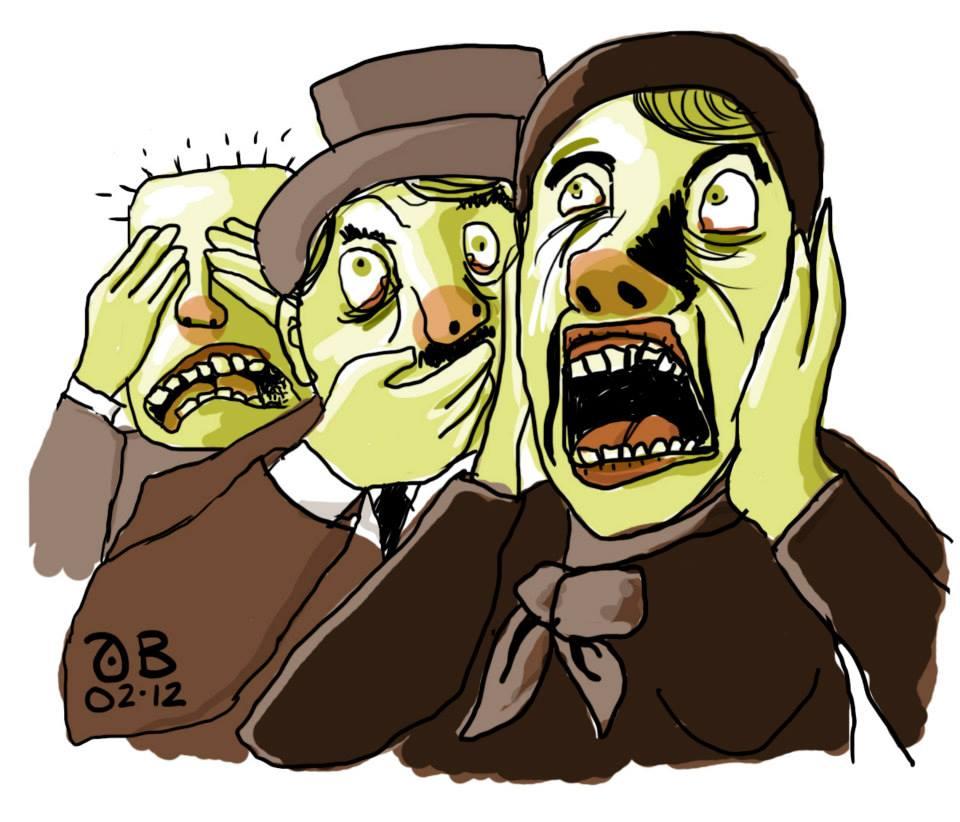 Banning og andre tabuord  gir negative konnotasjoner med rot i sosiale tabuer. Illustrasjon: Andreas Brekke