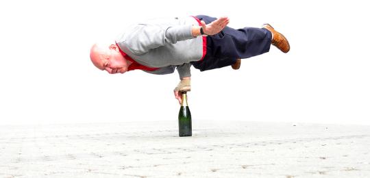 Godt trente eldre er ikke nødvendigvis mindre utsatt for å falle. Foto: Stefan Z / Flickr Creative Commons.