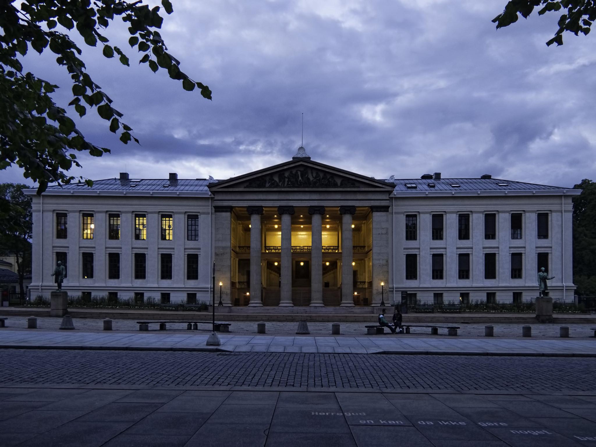 Ti kvinnelige studenter ved Universitetet i Oslo, her representert ved juridisk fakultet, ble intervjuet i denne studien. Foto: Dan Lundberg/Flickr