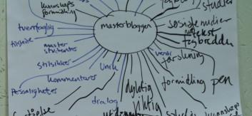 Brainstorming om Masterbloggen