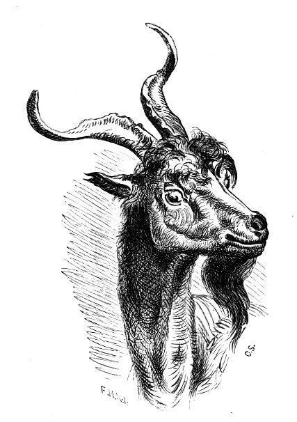 """Tradisjonelle eventyr som """"Bukkene Bruse"""" er populære utgangspunkt for digitale fortellinger. Illustrasjon: Otto Sinding (1879)"""