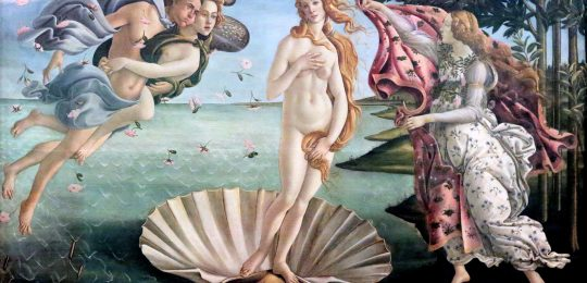 Sandro Botticelli – The Birth of Venus