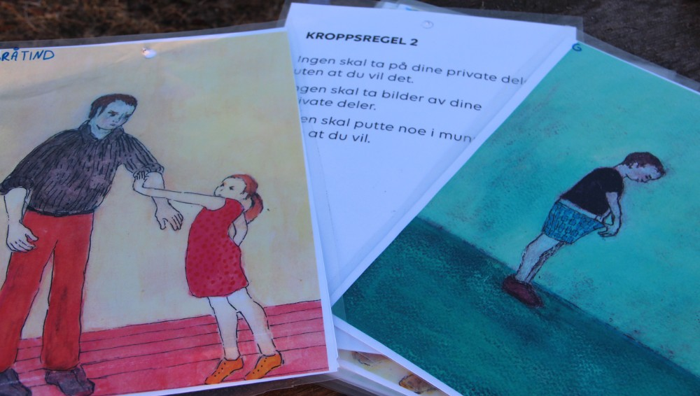 Bilde av kroppsregler og illustrasjoner